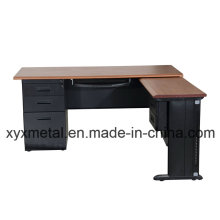 High Tech Luxury Executive Steel Computer Office Directior Desk